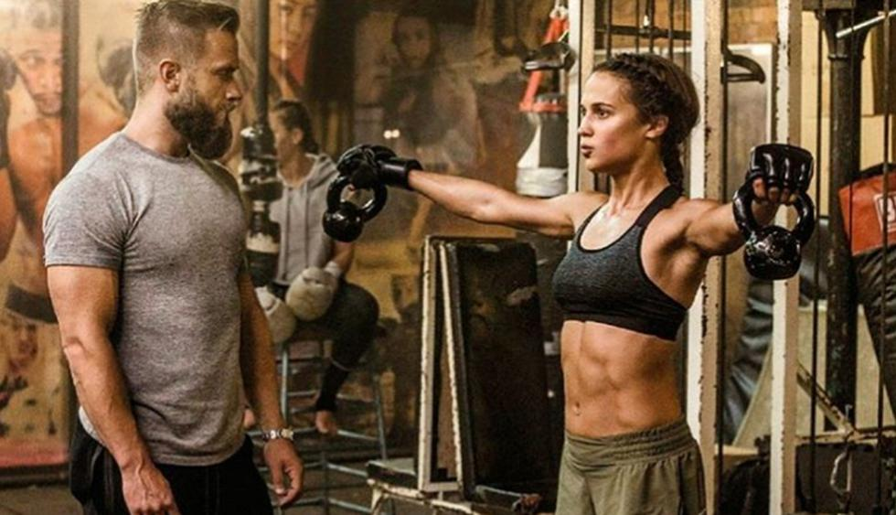 """Esta es la dieta alimenticia y los ejercicios que tuvo que seguir Alicia Vikander para su papel en la película """"Tomb Raider"""". (Foto: Instagram)"""