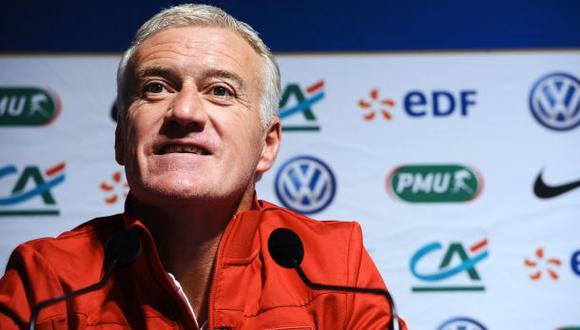 Francia renueva con técnico Didier Deschamps hasta el 2018
