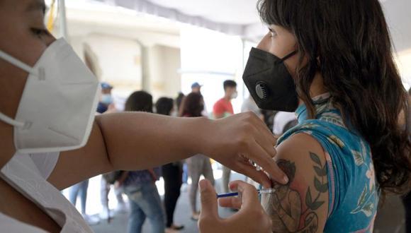 Coronavirus en México | Últimas noticias | Último minuto: reporte de infectados y muertos hoy, sábado 18 de septiembre del 2021 | Covid-19. (Foto: ALFREDO ESTRELLA / AFP).