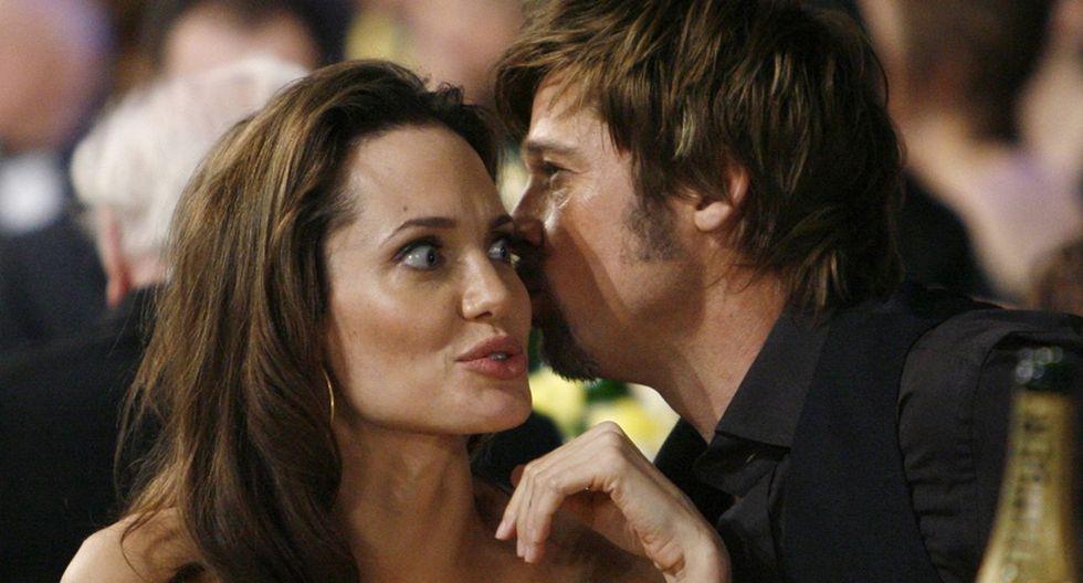 Angelina y Brad en 20 fotos que retratan sus momentos felices - 20