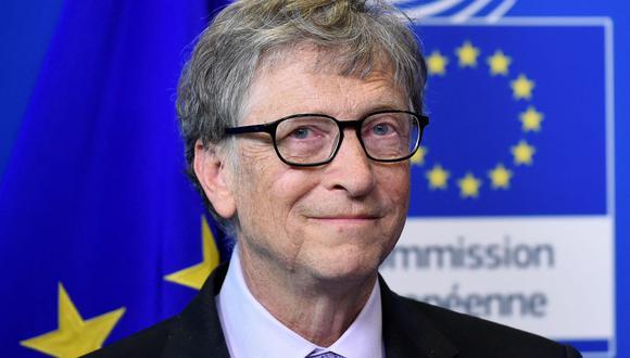 """Bill Gates dejó Microsoft durante investigación por relación romántica """"inapropiada"""", según The Wall Street Journal. (Foto: JOHN THYS / AFP)."""