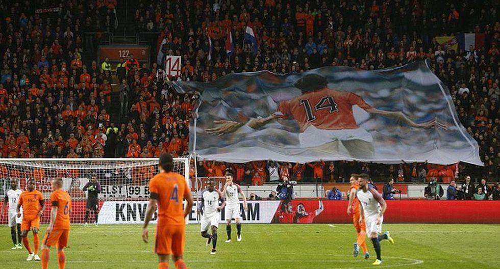 Holanda vs. Francia: el adiós a Johan Cruyff [GALERÍA]  - 10