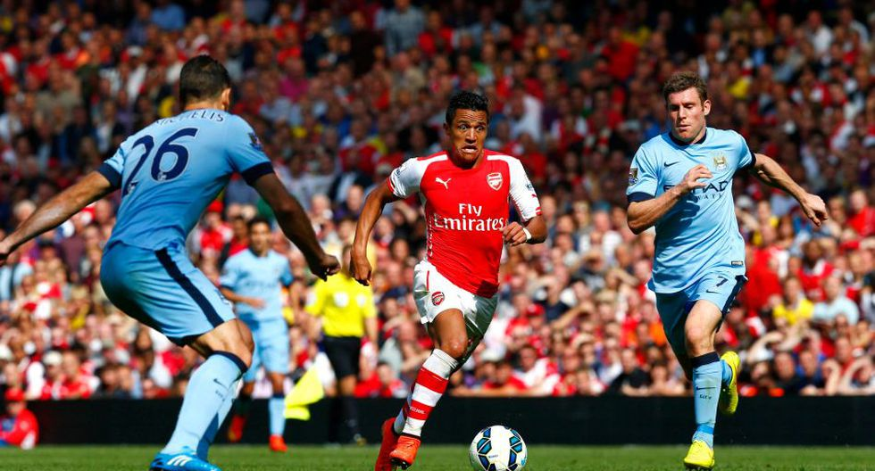 Las imágenes del partidazo entre Arsenal y Manchester City - 13