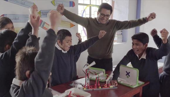 Guillermo Guevara Ruiz, profesor cajamarquino finalista del Global Teacher Prize. (Foto: Difusión / IPAE)