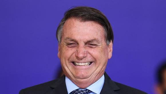Jair Bolsonaro celebra suspensión de ensayos de vacuna china de Sinovac contra el COVID-19 en Brasil (Foto: EVARISTO SA / AFP).