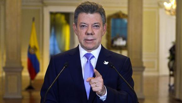 Santos abre diálogo nacional para lograr la paz con las FARC