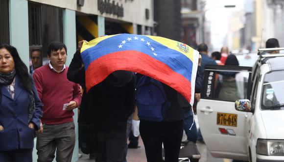 La mayoría de venezolanos emigraron con su grupo familiar. (Foto: GEC/ Alessandro Currarino)