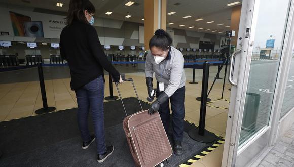 Ministro de Defensa señala que reportes no indican incremento abrupto de contagios por viajes interprovinciales. (Foto:César Campos/GEC)