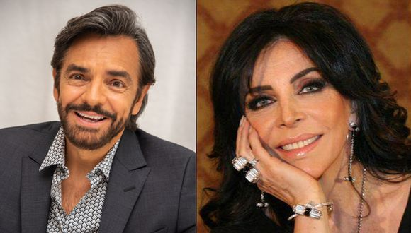 Eugenio Derbez recordó la travesura que le hizo a Verónica Castro cuando era niño y que le costó el regaño de su mamá, Silvia Derbez (Foto: Instagram)