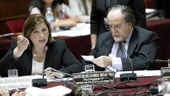 Canciller Eda Rivas va a Congreso por Ley de Bases Marítimas
