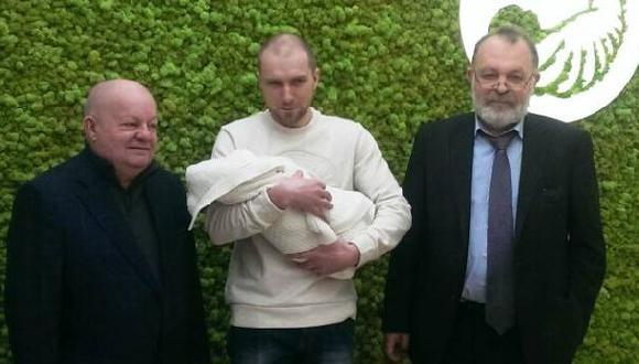 Nace en Ucrania un bebe con el ADN de tres personas