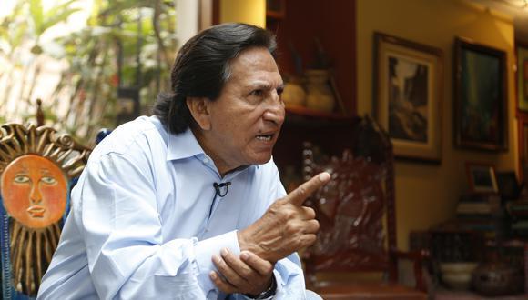 Toledo Manrique está requerido por la justicia peruana desde el 9 de febrero del 2017, cuando el Poder Judicial dictó 18 meses de prisión preventiva contra el exmandatario. (Foto: GEC)