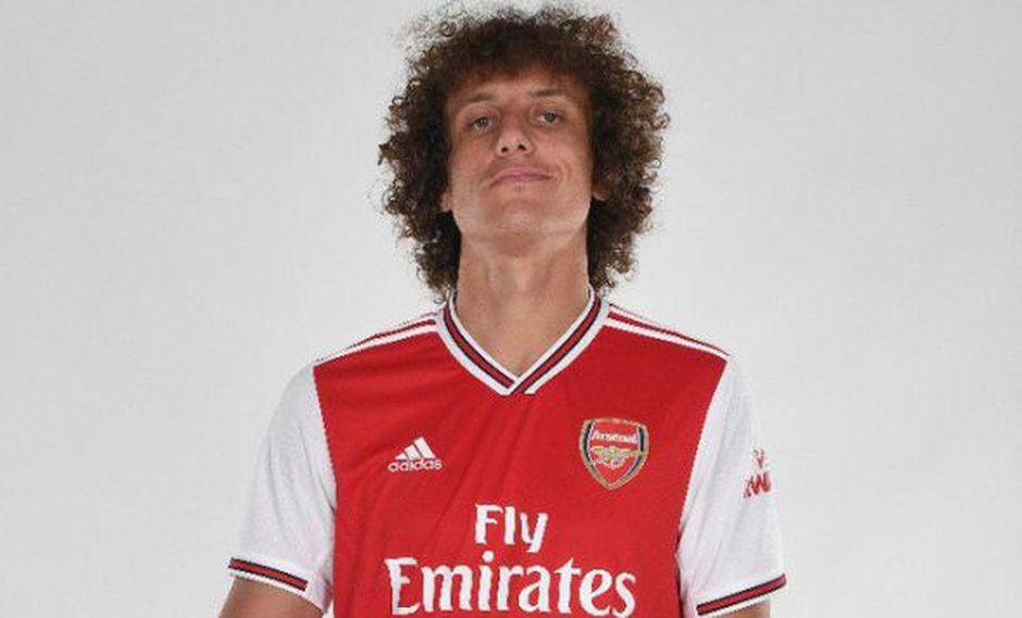 David Luiz, mundialista brasileño. (Foto: Arsenal FC)