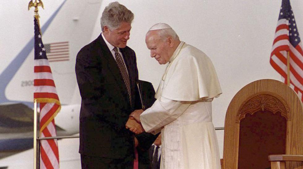 Bill Clinton en Perú y las postales como presidente de EE.UU. - 14