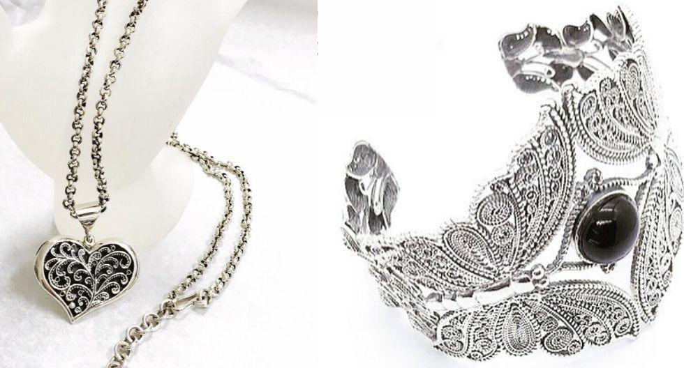 Limpia tus joyas de plata con jabón. (Fotos: Calla Joyas)