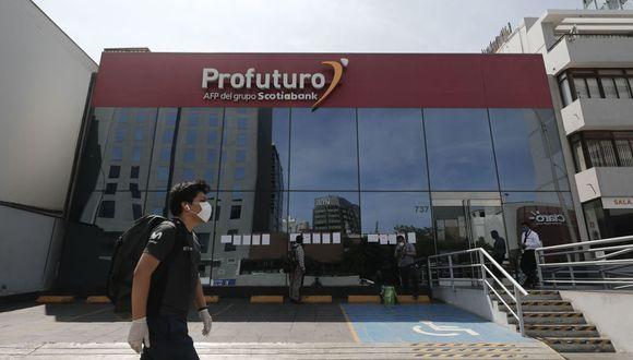 Si desea acceder al retiro del 25% de su fondo de AFP debe presentar una solicitud en la página consultaretiroafp.pe. (Foto: Andina) (Foto: Leandro Britto / GEC)