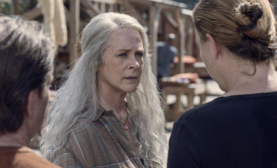 """""""The Walking Dead"""" 9x13 pondrá a todas las comunidades en riesgo por el peligro de los Whisperers. foto: Fox."""