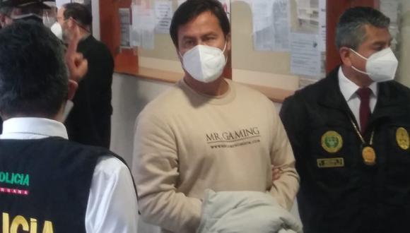 El empresario fue extraditado al Perú desde México en un vuelo humanitario que llegó al país el pasado 5 de septiembre para que cumpla su sentencia de 4 años de prisión. (Foto: Poder Judicial)