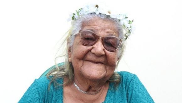 María Cardoso dejó a muchos en Facebook impresionados con sus intenciones. (Foto: Archivo personal / Pâmela Cristina Matias Gomes, bisnieta de María)