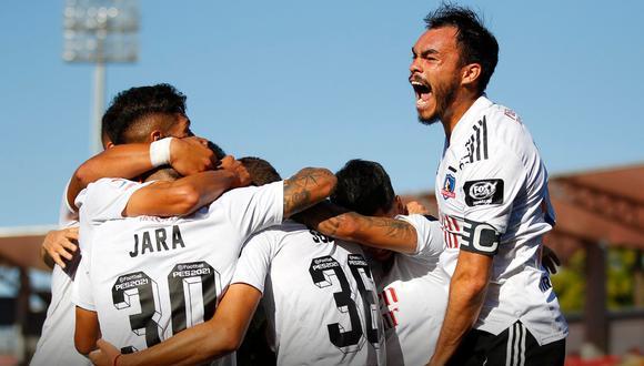 Colo Colo se salvó del descenso con un gol de Pablo Solari | Foto: Colo Colo