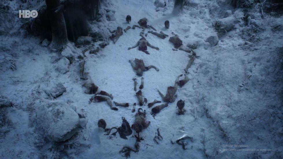Al parecer, los Caminantes Blancos tienen mucho tiempo libre. Foto: HBO.