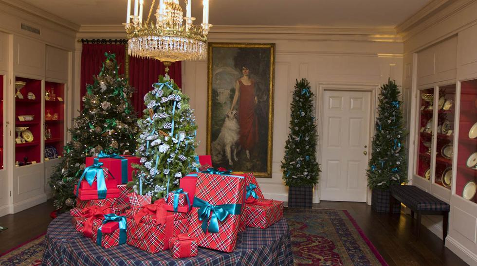 Carolina Herrera vistió de elegancia la Casa Blanca por Navidad - 3