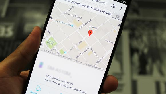 Conoce el método para hacer sonar tu celular si se te ha perdido y está en silenciador. (Foto: Google Maps)