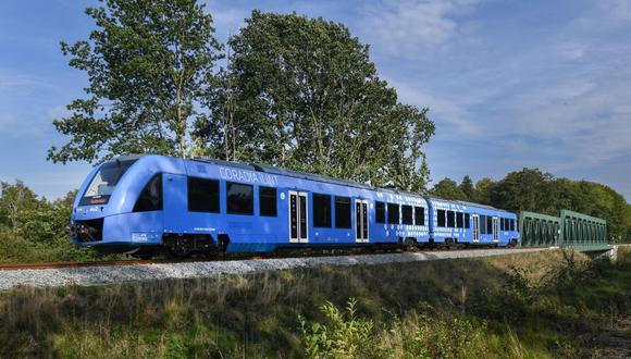 Coradia iLint. (Foto: Alstom)