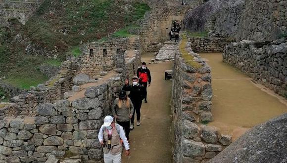 Machu Picchu: joven limeño fue el primer turista en ingresar al santuario inca. (Foto: DDCC)