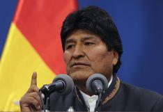 Bolivia: policía niega la existencia de una orden de arresto contra Evo Morales