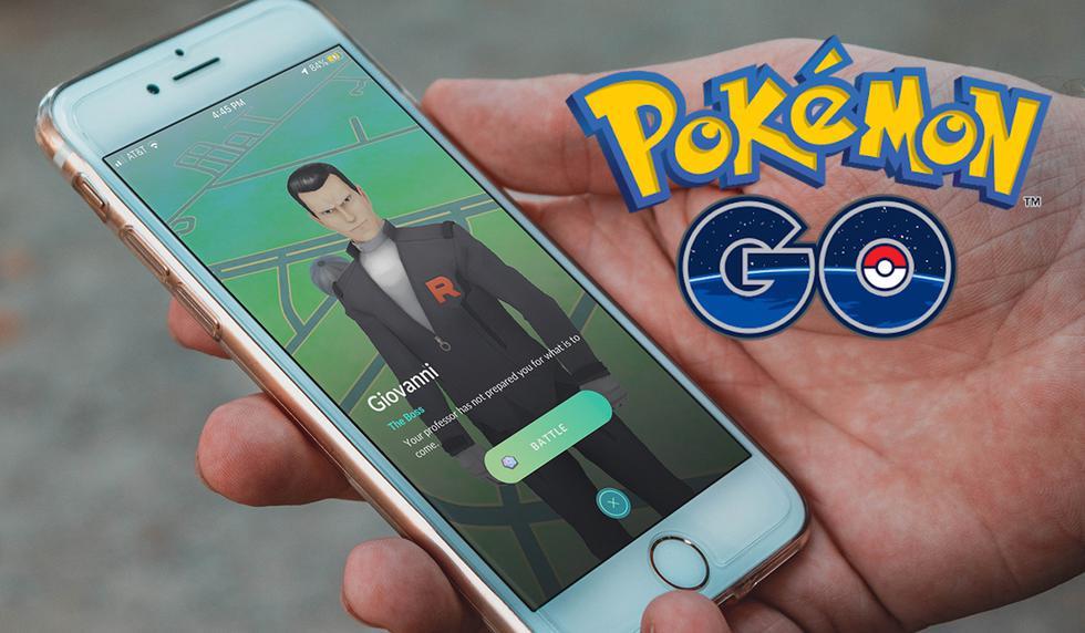 FOTO 1 DE 3 |  ¡Hazlo ahora mismo! Conoce cómo vencer a Arlo, Cliff, Sierra y Giovanni con este truco | Foto: Pokémon GO (Desliza a la izquierda para ver más fotos)