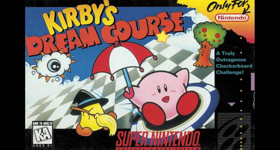 """""""Kirby's Dream Course"""""""