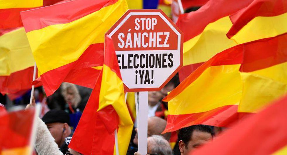 El presidente del Gobierno español, el socialista Pedro Sánchez, convocó a elecciones anticipadas para el 28 de abril próximo. (Foto: AFP)