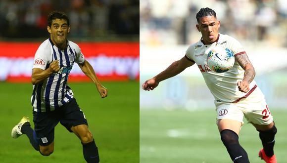 Luis Aguiar, en Alianza Lima 2017, y Jonathan Dos Santos, en Universitario 2020, dejaron en alto al fútbol uruguayo en la liga peruana. (Foto: GEC)