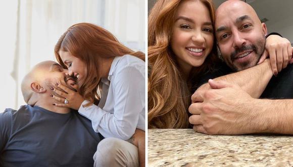 Gisselle Soto y Lupillo Rivera se casaron entre mayo y junio. (Foto: Instagram @gorgiz / @lupilloriveraofficial)