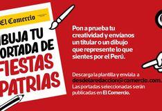 Crea una portada de El Comercio con tus sueños por 28 de julio y la publicamos aquí