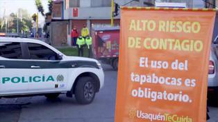 Bogotá impone confinamiento parcial ante aumento de casos del nuevo coronavirus