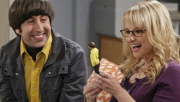 "Howard y Bernadette son la primera pareja en ""The Big Bang Theory"" en casarse y establecerse en un sólido matrimonio (Foto: CBS)"