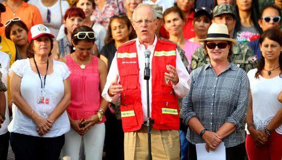 """""""Con desbordada esperanza presentaremos esta postulación del presidente Pedro Pablo Kuczynski"""", sostuvo Oscar Pérez, vocero de Unión Venezolana en Perú. (Foto: Presidencia de la República)"""