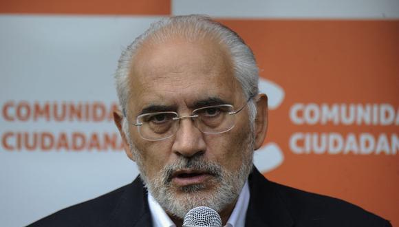 Ex presidente de Bolivia Carlos Mesa contrae el coronavirus. (Foto: JORGE BERNAL / AFP).