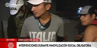 Coronavirus en Perú: sujetos son intervenidos bebiendo licor pese a estado de emergencia