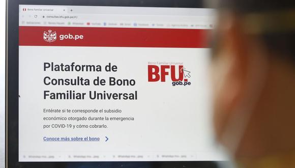 Para el segundo bono se estableció un cronograma que fue dividido en cinco fases de acuerdo con la modalidad asignada para cobrar el dinero (Foto: Andina)