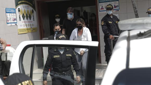 La fiscalía había solicitado un proceso inmediato por este presunto delito debido a que habría puesto oposición contra los policías que la detuvieron el último jueves.  (Foto: El Comercio)