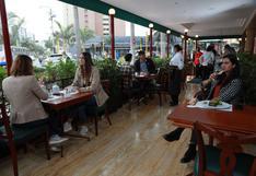 Restaurantes con más de 200 m2  podrán atender con el 100% de aforo desde este lunes 18 de octubre