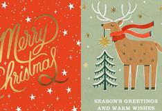 Navidad: 5 sitios web para crear tus tarjetas navideñas