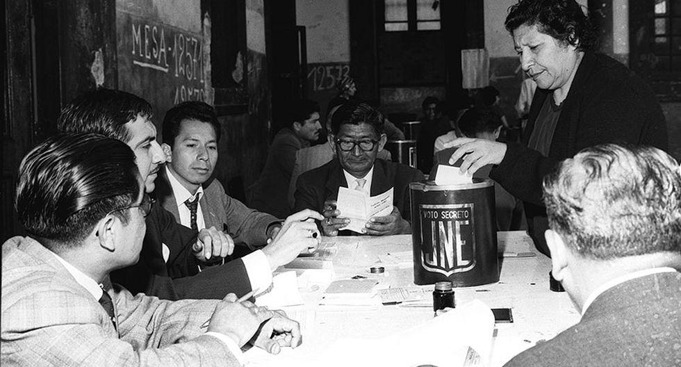 El 15 de diciembre de 1963 se realizó por primera vez en Lima y demás provincias del Perú. (Archivo: El Comercio)