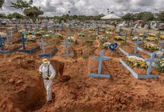Brasil supera las 250.000 muertes por el coronavirus