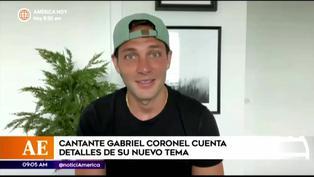 Gabriel Coronel habló por primera vez sobre su amistad con Luciana Fuster