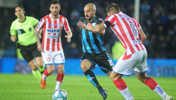 Racing igualó sin goles ante Unión en el inicio de la Superliga Argentina 2019-2020. (Foto: @RacingClub)