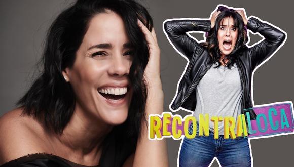 Gianella Neyra, la actriz de 44 años, ríe de los éxitos y los fracasos en una entrevista transmitida por el Instagram de Saltar Into (@saltarintrope). (Foto: Composición)